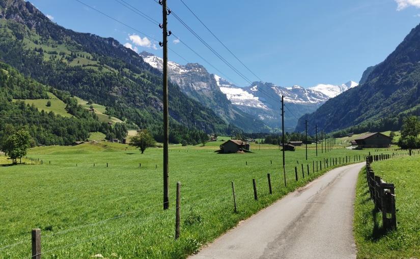 Berne-Camargue à vélo, Tag 1: Rüfenacht – Kandersteg(63km)