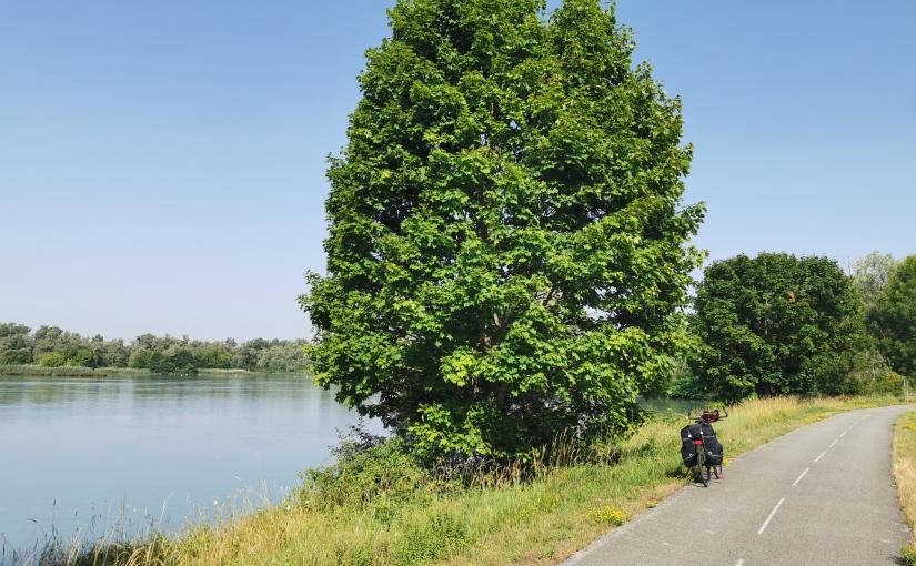 Berne-Camargue à vélo, Tag 5: Belley – Crémieu/Moirieu, 120km
