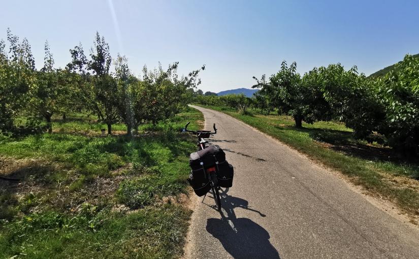 Berne-Camargue à vélo, Tag 8: Vienne – Valence, 98km